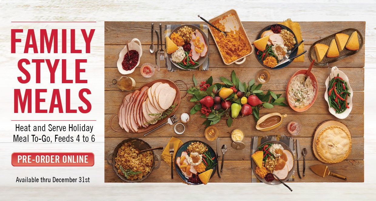 Pre-Order your Carrows Holiday Meal!
