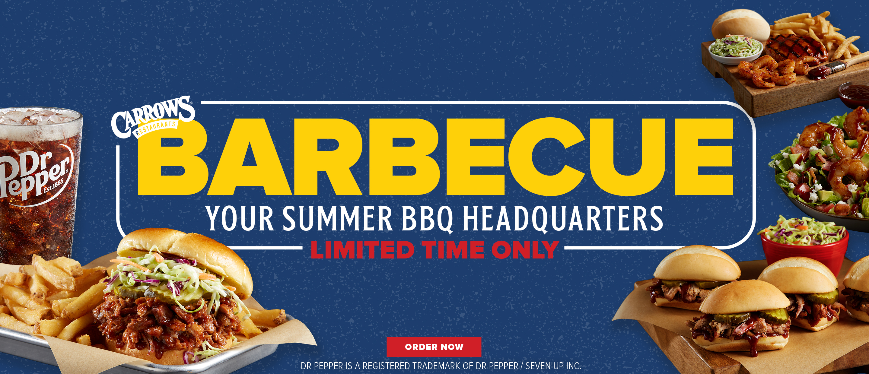 Carrows Barbecue. Your Summer BBQ Headquarters. Limited Time Only. Order Now.