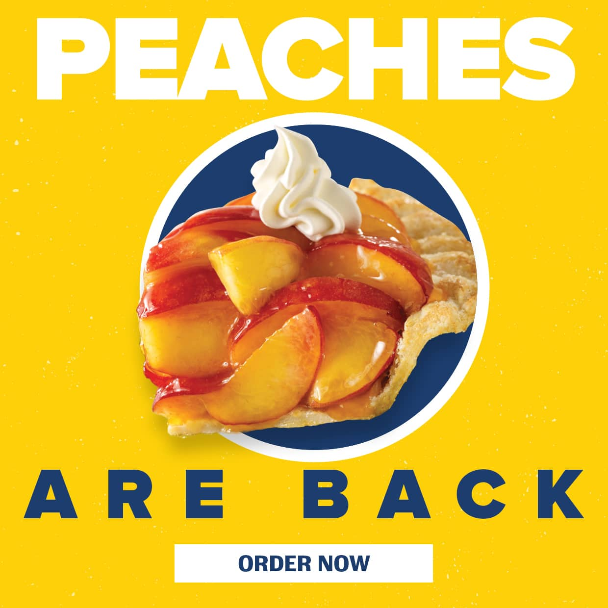 Peaches are Back! Order Now.